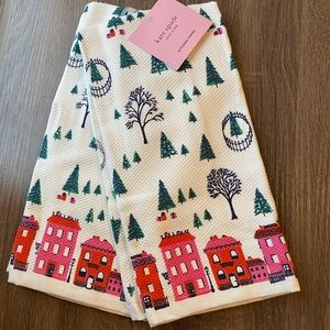 Kate Spade Holiday Hand towel set